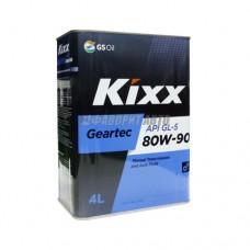 KIXX Geartec 80W-90 GL-5   4л  п/с