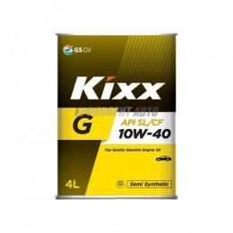 KIXX G 10W-40 SJ/СF   4л  п/с