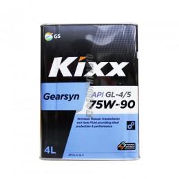 KIXX Gearsyn 75W90 GL-4/5 4 л синт.