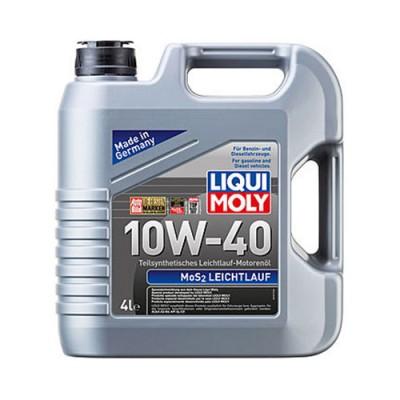 Моторное масло LiquiMoly MoS2 Leichtlauf 10W-40, 4л, полусинтетическое