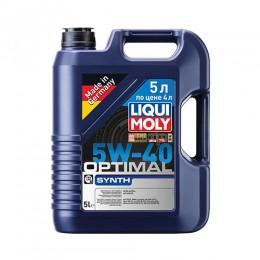 LiquiMoly Optimal Synth  5W-40 синт  5л  SN/CF A3/B4  LM2293 Акция #