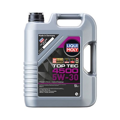Моторное масло LiquiMoly HC Top Tec 4500 5W-30, 5л, синтетическое