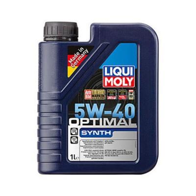 Моторное масло LiquiMoly Optimal Synth 5W-40, 1л, синтетическое