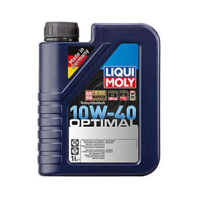 Моторное масло LiquiMoly Optimal 10W-40, 1л, полусинтетическое