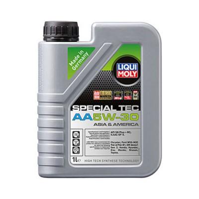 Моторное масло LiquiMoly Leichtlauf Spezial AA 5W-30, 1л, синтетическое
