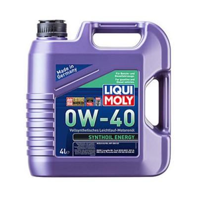 Моторное масло LiquiMoly Synthoil Energy 0W-40, 4л, синтетическое
