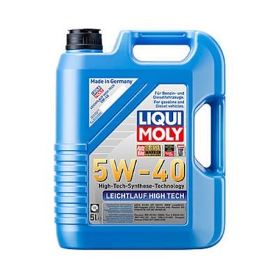 Моторное масло LiquiMoly Leichtlauf High Tech 5W-40, 5л, синтетическое