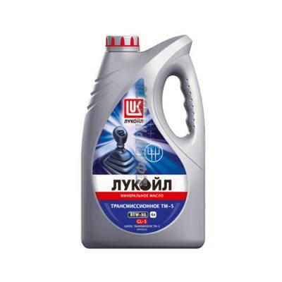 Моторное масло Лукойл ТМ-5 80W-90, 4л, минеральное