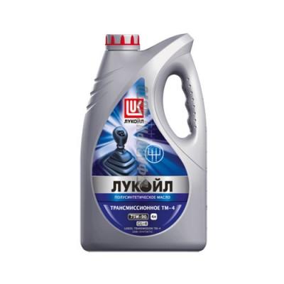 Моторное масло Лукойл ТМ-4 75W-90, 4л, полусинтетическое