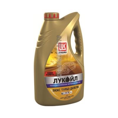 Моторное масло Лукойл ЛЮКС Турбо Дизель 10W-40, 4л, полусинтетическое