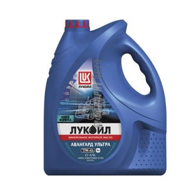 Моторное масло Лукойл АВАНГАРД Ультра 15W-40, 5л, минеральное