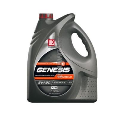 Моторное масло ЛУКОЙЛ GENESIS ARMORTECH 5W-30, 5л, синтетическое