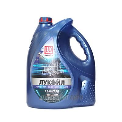 Моторное масло Лукойл АВАНГАРД 10W-40, 5л, полусинтетическое