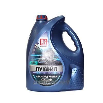 Моторное масло Лукойл АВАНГАРД Ультра 5W-40, 5л, полусинтетическое