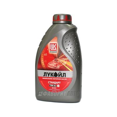 Моторное масло Лукойл СТАНДАРТ 15W-40, 1л, минеральное