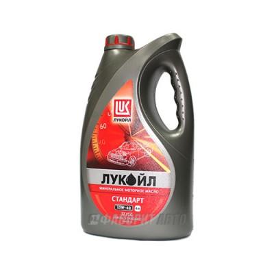 Моторное масло Лукойл СТАНДАРТ 15W-40, 4л, минеральное