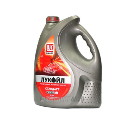 Моторное масло Лукойл СТАНДАРТ 10W-40, 5л, минеральное