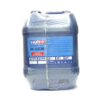 Моторное масло LUXE (DL) М8ДМ 20W-20, 20л, минеральное