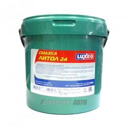 Смазка LUXE литол-24   9,5 кг. арт.709