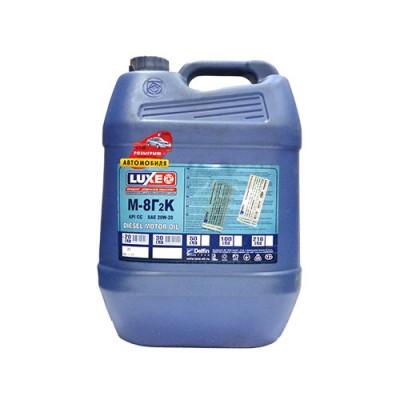 Моторное масло LUXE (DL) М8Г2К 20W-20, 20л, минеральное