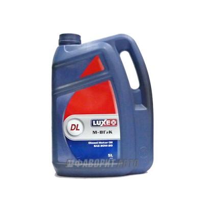 Моторное масло LUXE (DL) М8Г2К 20W-20, 5л, минеральное