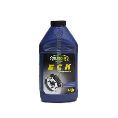 Тормозная жидкость OIL RIGHT БСК, 0,45л