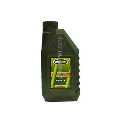 Гидравлическое масло OIL RIGHT марки А, 1л, минеральное