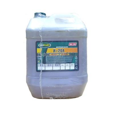 Индустриальное масло OIL RIGHT И-20А, 20л