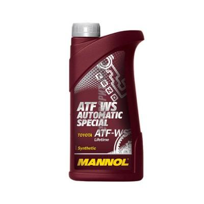 Трансмиссионное масло MANNOL ATF WS Automatic Special, 1л, синтетическое