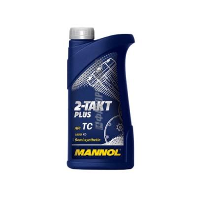 Моторное масло MANNOL Snowpower 2T, 1л, полусинтетическое