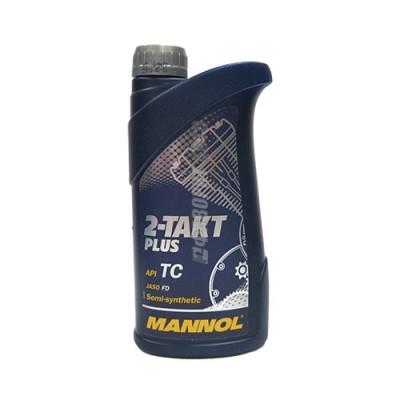 Моторное масло MANNOL 2-TAKT Plus, 1л, полусинтетическое