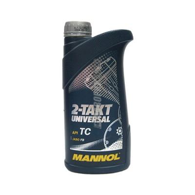 Моторное масло MANNOL 2-TAKT Universal, 1л, минеральное