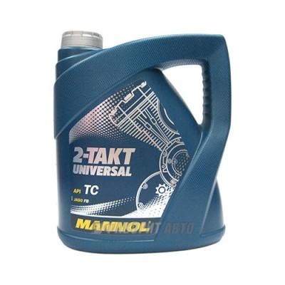 Моторное масло MANNOL 2-TAKT Universal, 4л, минеральное