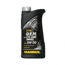 MANNOL  O.E.M. for VW Audi Skoda 5*30 син 1л
