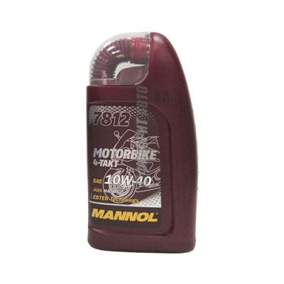 Моторное масло MANNOL 4-TAKT 10W-40 Motorbike, 1л, синтетическое