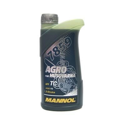 Моторное масло MANNOL 2-T Agro for Husqvarna, 1л, синтетическое