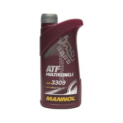 Трансмиссионное масло MANNOL ATF Multivehicle, 1л, синтетическое