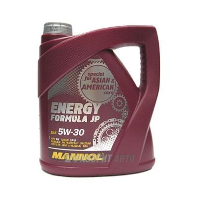 Моторное масло MANNOL Energy Formula JP 5W-30, 4л, синтетическое