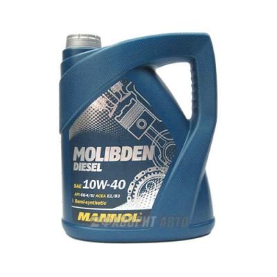 Моторное масло MANNOL MOS Diesel 10W-40, 5л, полусинтетическое
