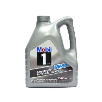 Моторное масло MOBIL-1 5W-50, 4л, синтетическое
