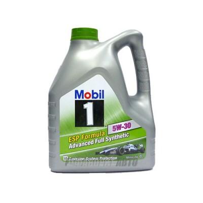 Моторное масло MOBIL ESP Formula 5W-30, 4л, синтетическое