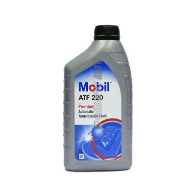 Трансмиссионное масло MOBIL ATF 220 DEXRON II, 1л, минеральное