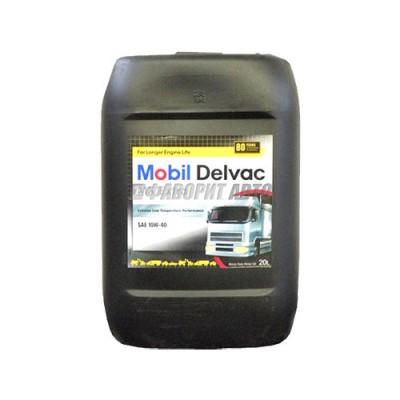 Моторное масло MOBIL Delvac MX Extra 10W-40, 20л, полусинтетическое