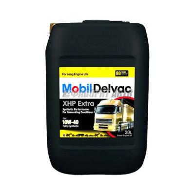 Моторное масло MOBIL Delvac XHP Extra 10W-40, 20л, синтетическое