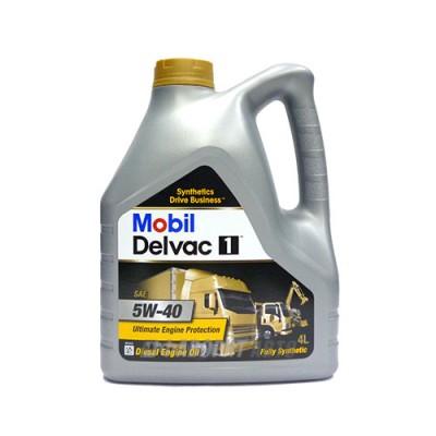 Моторное масло MOBIL DELVAC 1 5W-40, 4л, синтетическое