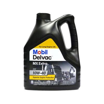 Моторное масло MOBIL Delvac MX Extra 10W-40, 4л, полусинтетическое
