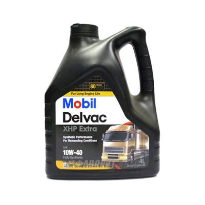 Моторное масло MOBIL Delvac XHP Extra 10W-40, 4л, синтетическое