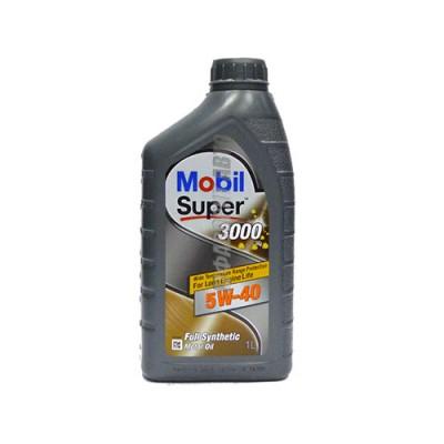 Моторное масло MOBIL SUPER 3000 X 1 5W-40, 1л, синтетическое