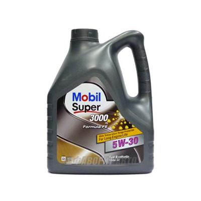 Моторное масло MOBIL SUPER 3000 X 1 F-FE 5W-30, 1л, синтетическое