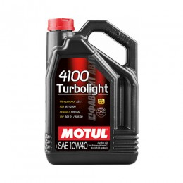 MOTUL  4100 Turbolight  10W40  4л 100355/109462$